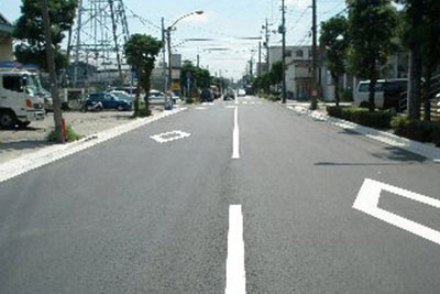 道路舗装工事
